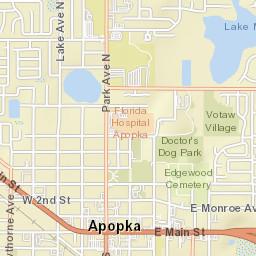 Apopka Florida Map.Apopka Fl