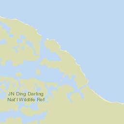 J. N. Ding Darling National Wildlife Refuge - | paddling.com Ding Darling Map on