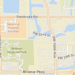 Miramar Florida Map.Miramar Fl Official Website