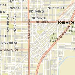 Map Of Homestead Florida.Homestead Fl Official Website