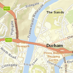 Durham City Locations Scribble Maps