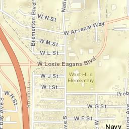 Bremerton Wa Zip Code Map.Usps Com Location Details