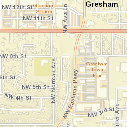 Gresham Oregon Zip Code Map.Usps Com Location Details