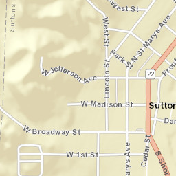Sutton Bay Michigan Map.Usps Com Location Details