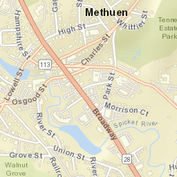 Methuen Ma Zip Code Map.Usps Com Location Details