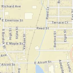 kalamazoo county michigan zip code map