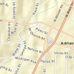 USPS.com® - Location Details on adrian ga map, adrian mi map, adrian mn map,