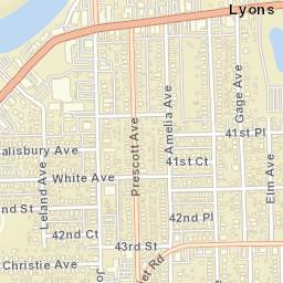 Lyons Illinois Map.Usps Com Location Details