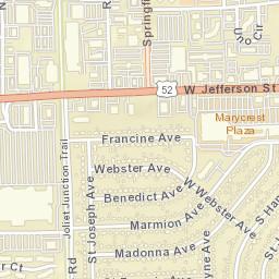 Joliet Il Zip Code Map.Usps Com Location Details