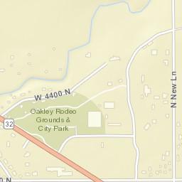 Oakley Utah Map.Usps Com Location Details