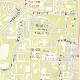 map of byui campus Campus Map map of byui campus