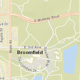 Broomfield Colorado Zip Code Map.Usps Com Location Details