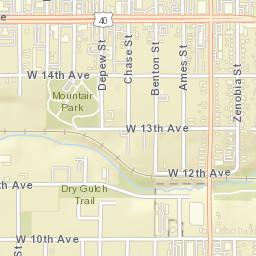 Sheridan Colorado Map.Usps Com Location Details