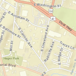 Hagerstown Md Zip Code Map.Usps Com Location Details