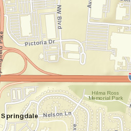 Springdale Ohio Map.Usps Com Location Details