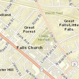 Falls Church Va Zip Code Map.Usps Com Location Details