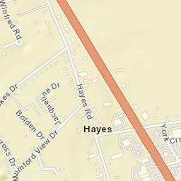 Hayes Virginia Map.Usps Com Location Details