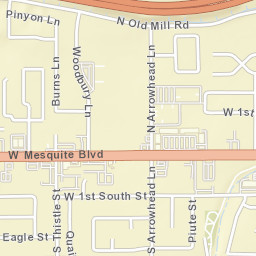 Mesquite Zip Code Map.Usps Com Location Details