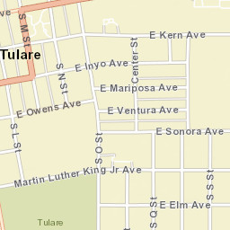 Tulare Zip Code Map.Usps Com Location Details