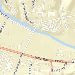 Pigeon Forge Zip Code Map.Usps Com Location Details