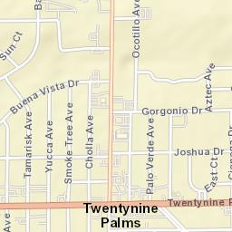 Map Of California 29 Palms.Usps Com Location Details
