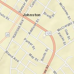 Johnston sc zip code