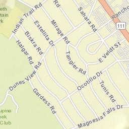 Rancho Mirage Zip Code Map.Usps Com Location Details