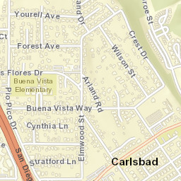 Carlsbad California Zip Code Map.Usps Com Location Details