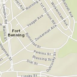 Map Of Georgia Fort Benning.Usps Com Location Details