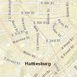 Hattiesburg Ms Zip Code Map.Usps Com Location Details
