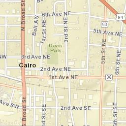 Map Of Cairo Georgia.Usps Com Location Details