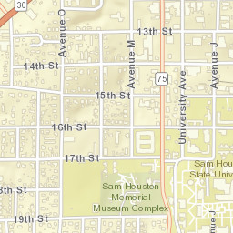 Sam Houston State University, Main Campus on the university of memphis map, new mexico university map, sam houston vs texas tech, university of nevada las vegas map, salisbury state university map, new hampshire university map, central arkansas university map, rice university map, huntsville state university map, wyoming university map, university of houston map, black hills state university map, southwestern adventist university map, southwest minnesota state university map, sul ross state university map, northeastern state university map, saint peter's university map, st mary's university map, saint lawrence university map, uh clear lake campus map,