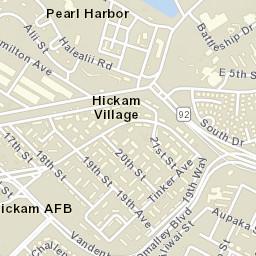 Hickam zip code