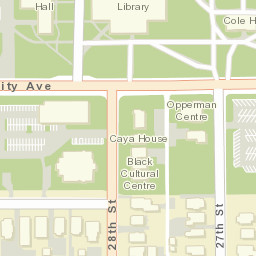 Drake University Interactive Map