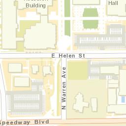 University Of Arizona Keating Building Map.Planning Design And Construction The University Of Arizona