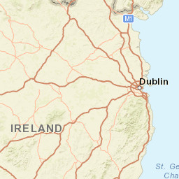 32 County Map Of Ireland.Map Of Ireland Ireland S Sile Na Giġ
