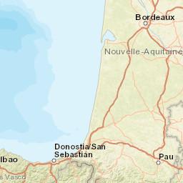 Aquitaine Sea Temperatures France Sea Temperatures