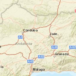 Andalusia Sea Temperatures Spain Sea Temperatures