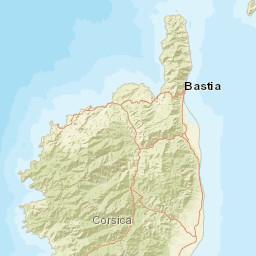 Carte Radar Corse.Carte Des Radars Automatiques Corse