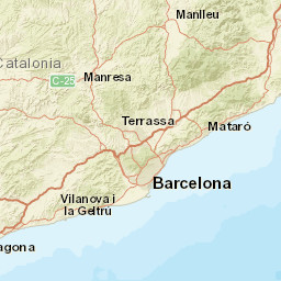 Map Of Spain Showing Salou.Salou Water Temperature Spain Sea Temperatures
