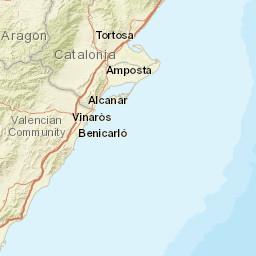 Benicssim Water Temperature Spain Sea Temperatures