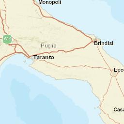 Taranto Water Temperature Italy Sea Temperatures