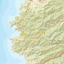 Carte Radar Corse.Carte Des Radars Automatiques Corse Du Sud