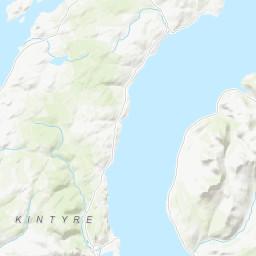 Campbeltown Scotland Map.Mountains Near Campbeltown Scotland Mountain Guide Uk Hills