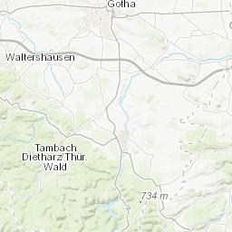 Carte Allemagne Thuringe.Suhl Thuringe Allemagne Information Geographique Ressources