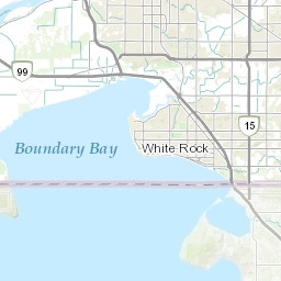 Surrey Canada Map.Snow Removal Surrey Here S A Map Of Priority Routes For Snowplows