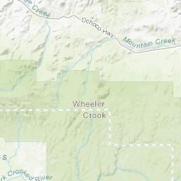 Wheeler Oregon Map.Reconnaissance Geologic Map Of The Lookout Mountain Quadrangle