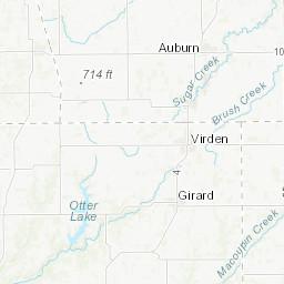 Illinois Height Modernization (ILHMP): LiDAR Data: Madison
