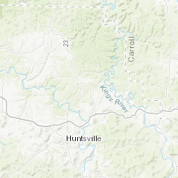 Northwest Arkansas Heritage Trail Map