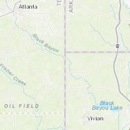 State Parks In Arkansas Map.Atlanta State Park Texas Parks Wildlife Department